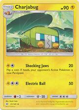 4x Charjabug - 51/149 - Uncommon Sun & Moon Base Set Pokemon Near Mint