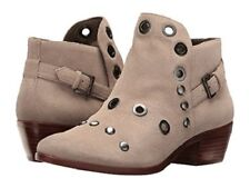 10d6dfa5b9db Sam Edelman Pedra Suede Leather Ankle BOOTIES BOOTS Womens 8 Putty