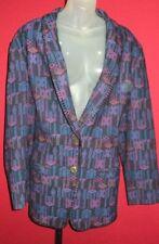 ~PENDLETON Western Knockabouts Vintage Indian Blanket 100% Wool Jacket Sz 12~