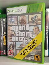 Rare GTA Grand Theft Auto V 5 Five XBOX 360 PROMO PROMOTIONAL COPY