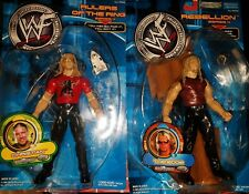 WWE Edge Rebellion Christian Rulers of the ring Jakks Wrestling Figures new lot