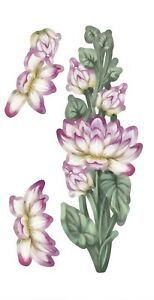 CARNATION CRAFTS x 5 Sets - Edge of Beauty Water Lily - 5 Colours/Mixed/White