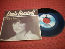 LINDA RONSTADT  BLUE BAYOU (ROY ORBISON) IT'S SO EASY (BUDDY HOLLY) 1977 BELGIUM