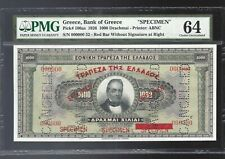 1926 $1000 dr-speciment with overprint-pick100s