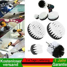 Bürstenaufsatz Reinigungsbürste 4x /Set Bohrmaschine Akkuschrauber Auto Polster