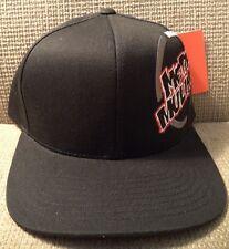 METAL MULISHA PRIMARY SNAPBACK CAP HAT BLACK PREPRODUCTION SAMPLE *NWT*