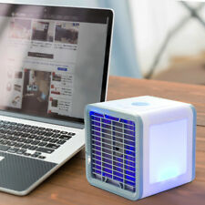 Portable USB Mini Cooler Fan Air Conditioner 3 in 1 Personal Desktop  Office