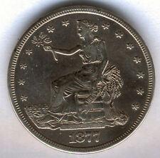 U.S.A. 1 Dolar Trade 1877 San Francisco  @ Bella pieza @ plata