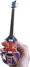 AXE Heaven Union Jack Violin Bass McCartney Mini Guitar miniature Beattles