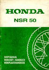 Honda NSR 50 1988 Shop Manual - extended version