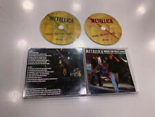 METALLICA 2 CD WHERE THE FUCK'S JAMES FEAT KID ROCK KORN SYSTEM OF A DOWN