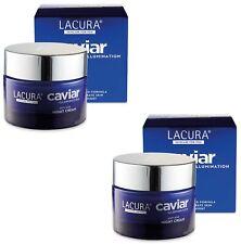 2 x Anti-Ageing Lacura Caviar Lifting & Firming Night Cream 50ml - BNIB