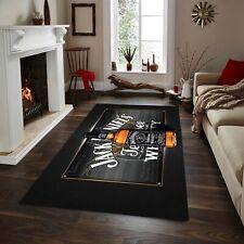 Jack Daniels  Patterned Rug ,Fan Carpet Non Slip Floor Carpet,Teen' 3x5ft