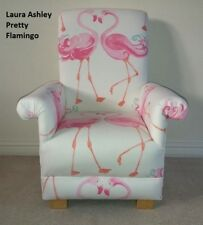 Laura Ashley Pretty Flamingo Fabric Child's Chair Girl's Armchair Pink Nursery
