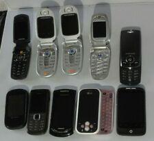 Job Lot Of 10 (HTC Motorola LG Samsung Nokia) Mobile Phones
