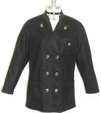 ZEILER BLACK WOOL JACKET Coat  Women German Hunting WINTER Sport Dress 34 1 B42""
