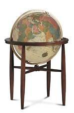 Replogle Finley Illuminated Floor Globe - Antique Ocean - 20 Inch
