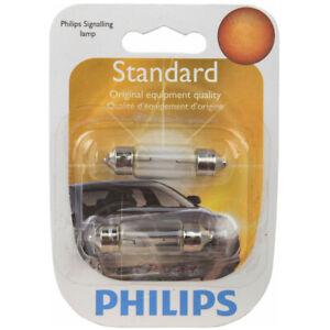 Philips License Plate Light Bulb for Kia Amanti Borrego Rondo Sorento mu