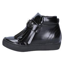 scarpe donna SARA LOPEZ 36 EU sneakers nero pelle sintetica BX705-36