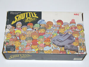 PC Engine SHUTTLE Console System Boxed Fully Working NEC Turbografx In Hand