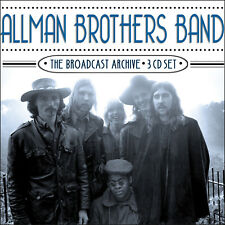 ALLMAN BROTHERS New Sealed 2018 LIVE EARLY 1970s CONCERTS 3 CD BOXSET