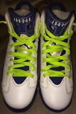 Jordan 6 Retro VI GS Size 6Y Youth Seahawks Fierce Deep Royal 543390 108