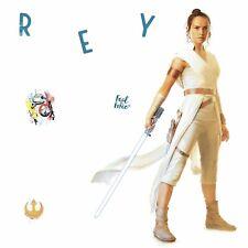 New Licensed STAR WARS Episode IX Rey Giant Wall Decals Star Wars Stickers Decor