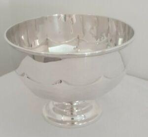Solid Sterling Silver Art Nouveau Bowl - Sheff 1912