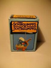 SMURF SCHLUMPF BOITE SUPER SCHTROUMPF HELICOPTERE 4.0233 40233