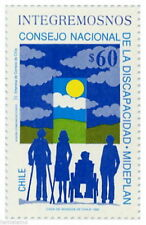 Chile 1992 #1570 Consejo Nacional de la Discapacidad MNH