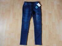 C&A here+there Mädchen Stretch Jeans in Größe 164 blau *Neu