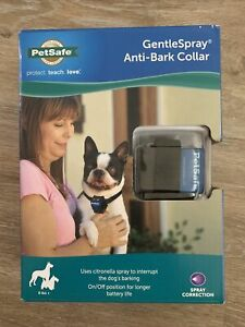 PetSafe Gentle Spray Anti-Bark Collar SNS-BK-C NEW