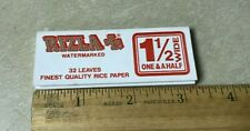 Rizla 1 1/2 Wide Cigarette Rolling Paper Rare Vintage Find Collectible Watermark