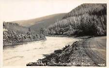 C9/ Quebec Canada c1920s Real Photo RPPC Postcard Matapedia River 2