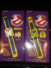 The Real Ghostbusters Slimer & Stay Puft Marshmallow Man Watch 1989