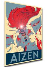 Poster Propaganda - Bleach - Sosuke Aizen - Variant 02 LL0377