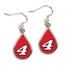Kevin Harvick 2015 Wincraft #4 Tear Drop Earrings Carded FREE SHIP!