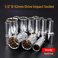 METRIC HEX SOCKETS  1/2 SQUARE DRIVE GOODYEAR 8mm-32mm SIZES DEEP SOCKETS