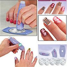 Professional Nail Art Stamp Stamping Polish Stencil DIY Nail Decoration Kit 1Pcs