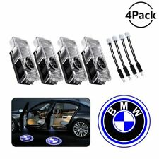 NEW bmw Logo LED Laser Projector Car Door Welcome Ghost Shadow Light 4-Pieces