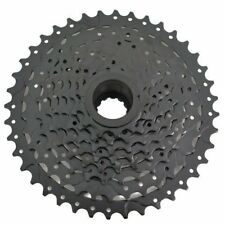 Fast Shipping SunRace CSM990 Wide Ratio Cassette 11-40T , 9 Speed , Black