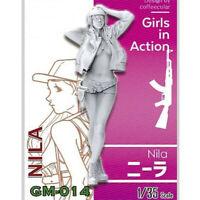 1/35 Nila Girls in Action Resin Model Kits Unpainted GK Unassembled