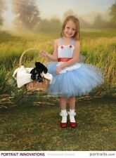 Custom Kids Dorothy Costume and Ruby Slippers