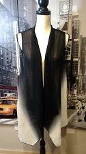 Chicos Travelers Collection Sleeveless Open Front Duster - Sz 1X NWOT