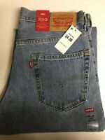 Levi's Men's 550 Jeans $27 OFF  Relaxed Size 29, 34, 36, 38 & 40 W Retail $59.50
