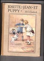 CRADOCK. Josette Jean et Puppy. Nathan 1937. Ill. de Appleton