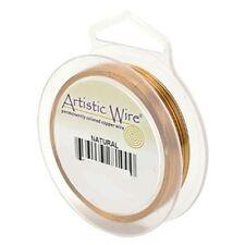 Artistic Wire Natural Copper 34 gauge Round 125 yards 41164