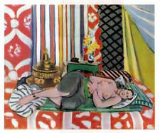 Henri Matisse litho 'Odalisque couchée pantalon gris' 1939 Edit. Braun&Cie - COA
