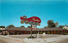 Elko Nv Travelers Motel Idaho St. Roadside Chrome P/C