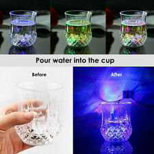 1 LED Wine Whisky Cup Inductive Colorful Light Drink Bar Party Beer G Y8Y4